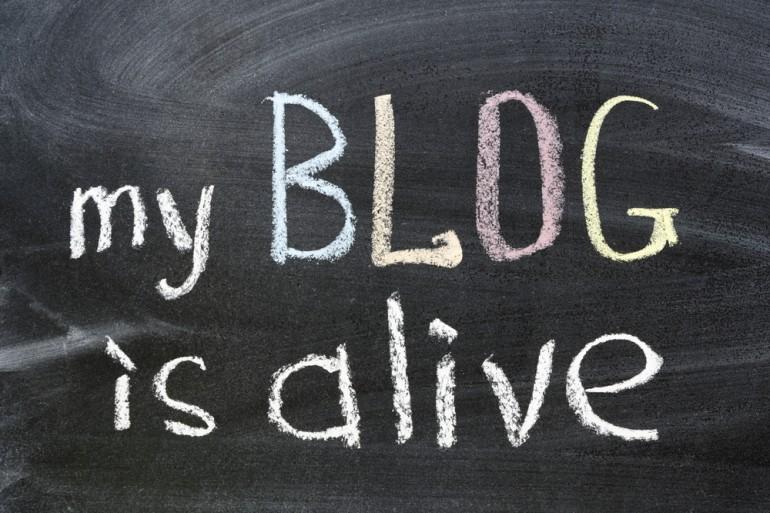 Blog setup – we do that as well!