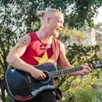 Terje and his guitar